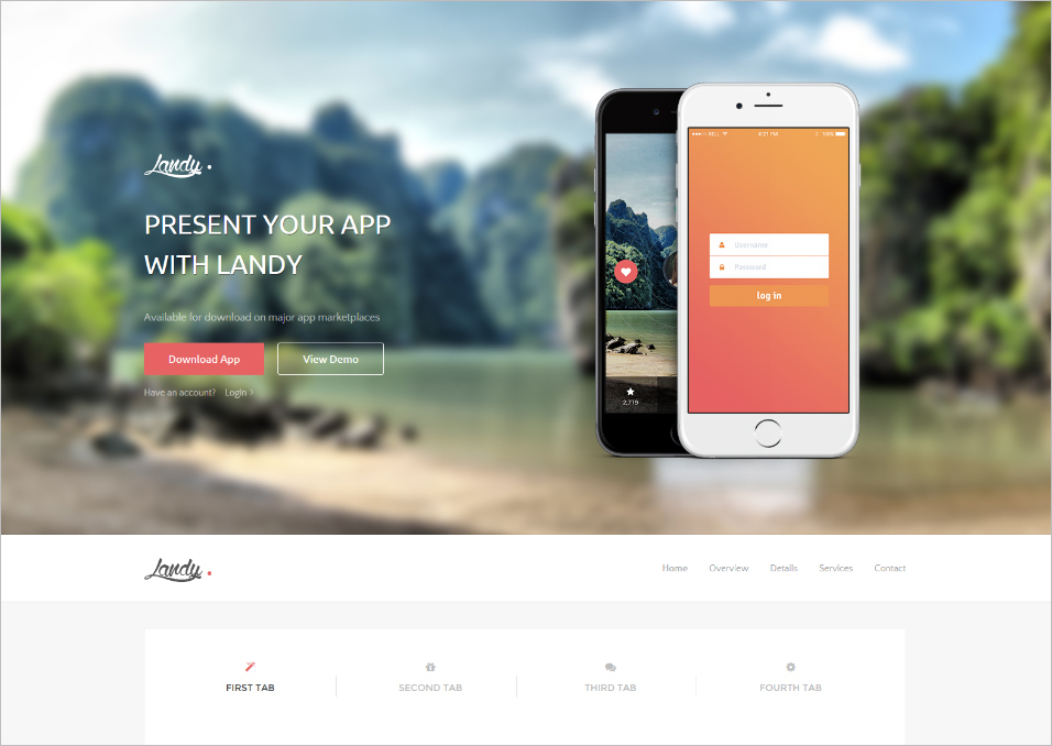 Ultimate Bootstrap 3 Landing Page Template