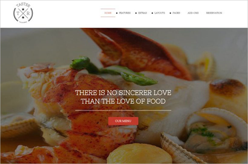 Ultimate Restaurant Business Joomla template