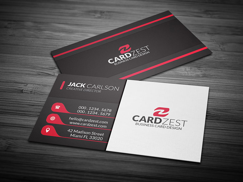 Business Card Templates Free PSD Design Ideas Creative Template - Free business card template