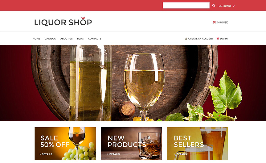 VirtueMart Template With Custom Page Options