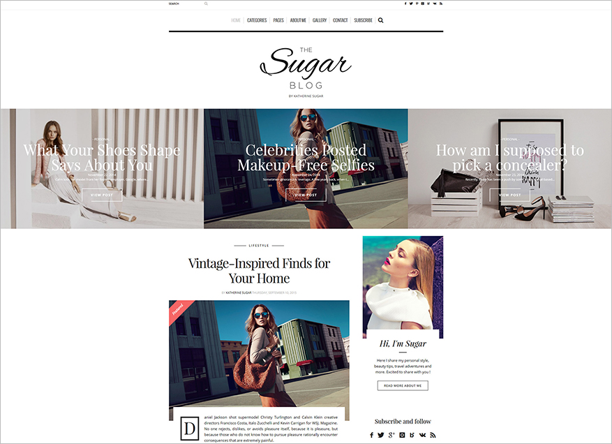 WordPress Blog Theme with Unlimited Homepage Layouts