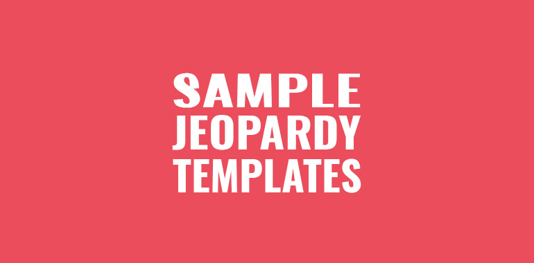Powerpoint Jeopardy Game Template With Music blueplaidnet – Sample Jeopardy Powerpoint