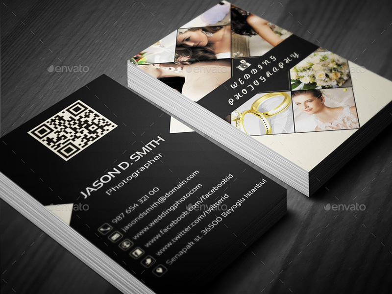 65 photography business cards templates free designs wedding photography business card template wajeb Image collections