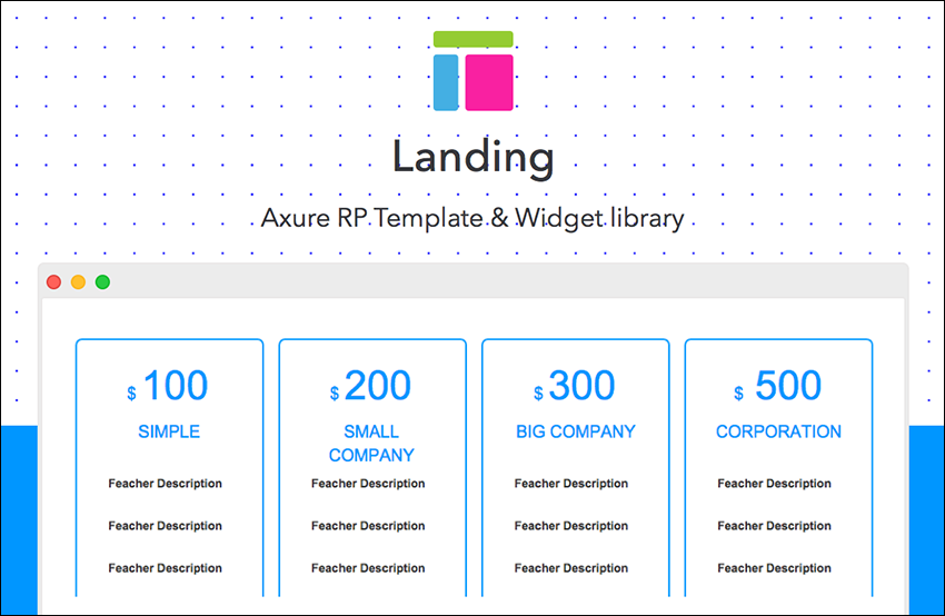 Advanced Dynamic Landing Page Template