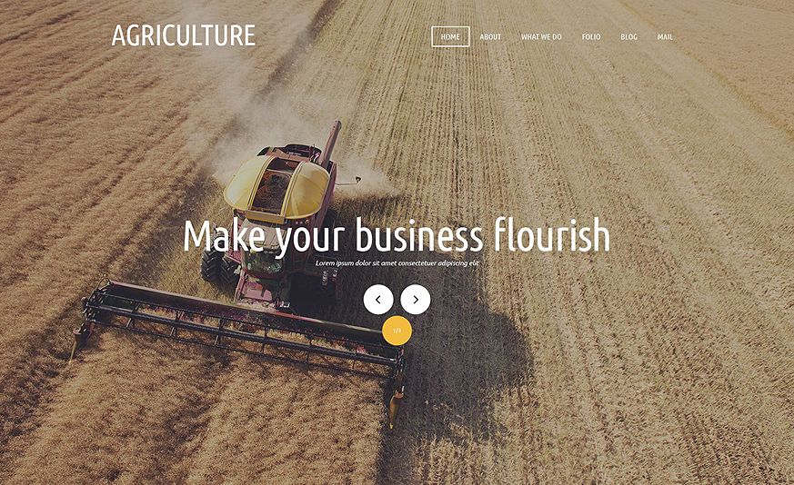 Agricultural Organization Joomla Template