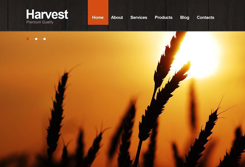 Agriculture Joomla Website Theme