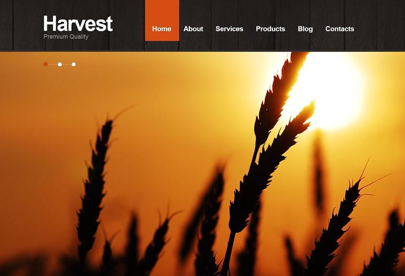 Agriculture Joomla Website Theme