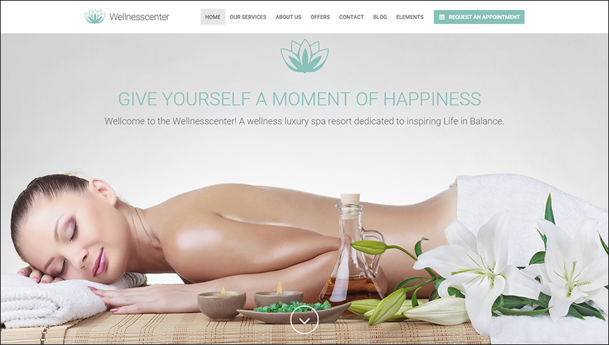 Beauty Spa WordPress Theme