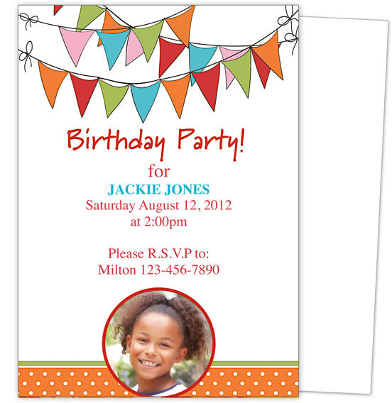 9 Birthday Party Invitation Templates Free Online – Birthday Invitation Template Word