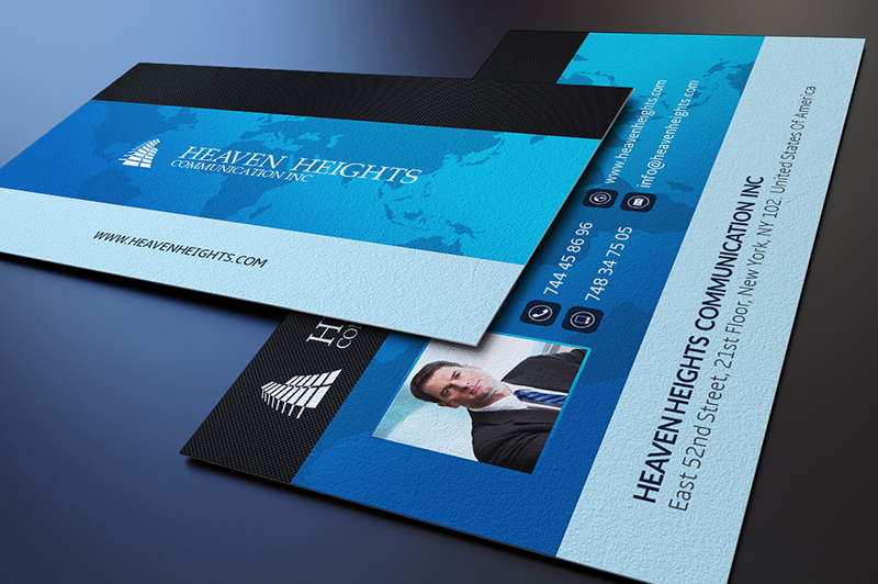 Business Communication Agent Card Template