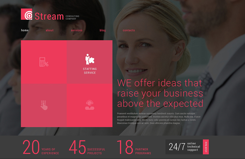 Business Consulting Company Joomla Template