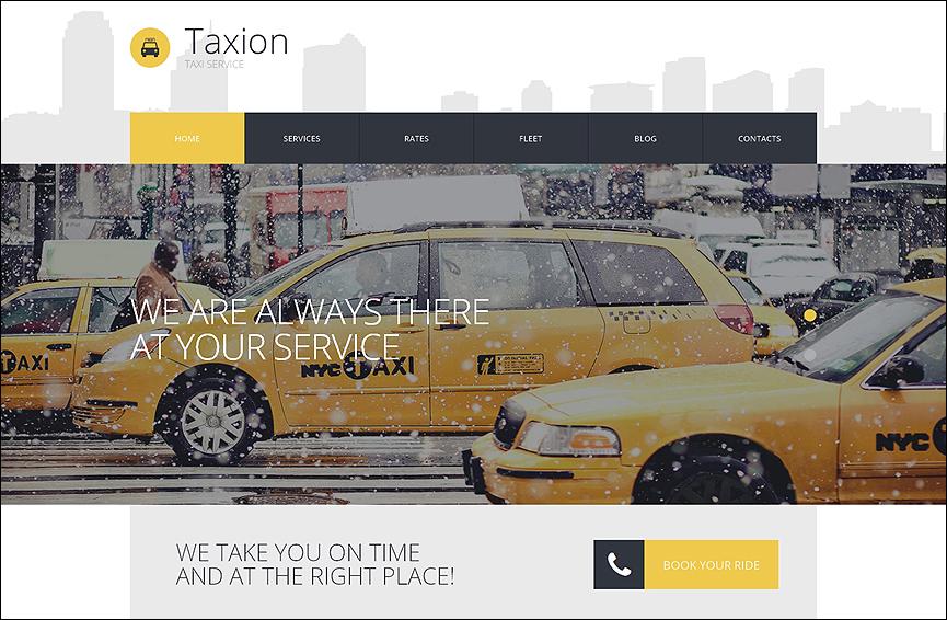 Cabs WordPress Theme