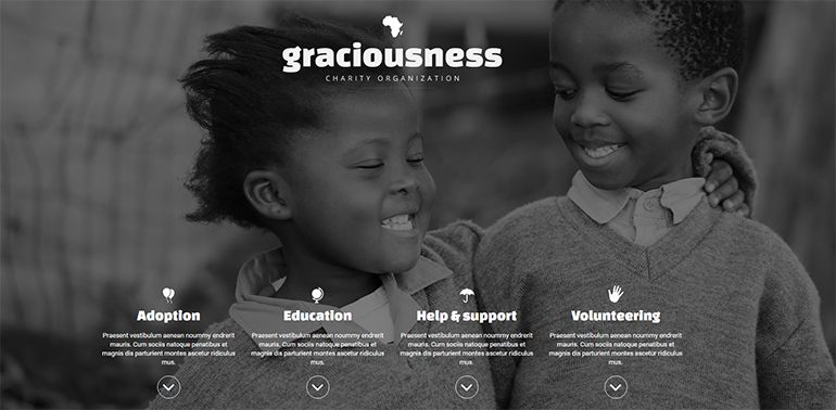 Charity Joomla Templates