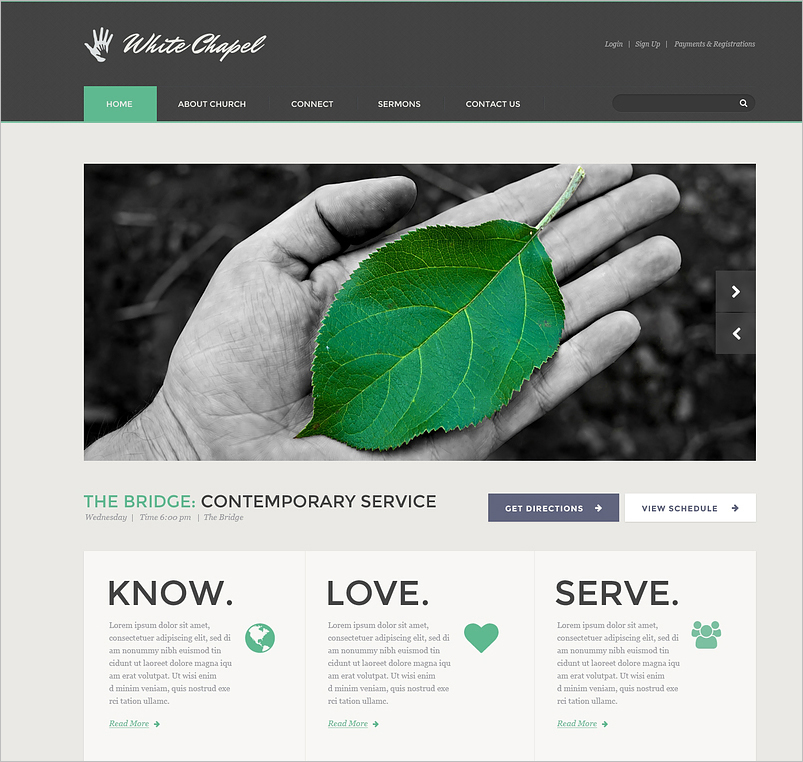Charity Responsive Template