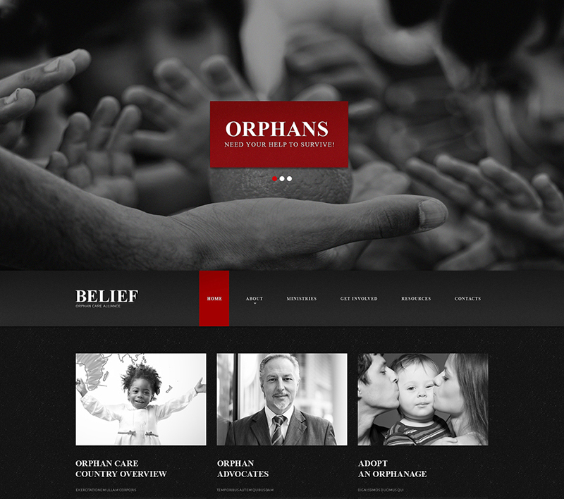 Child Charity Html Template