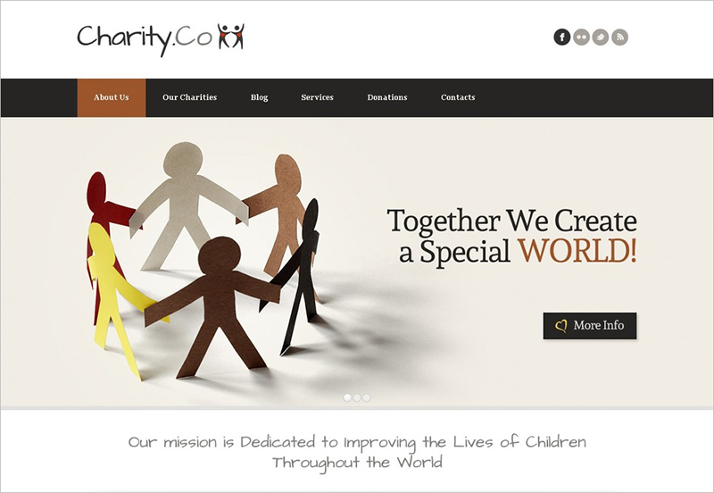 Child Charity Joomla THEME