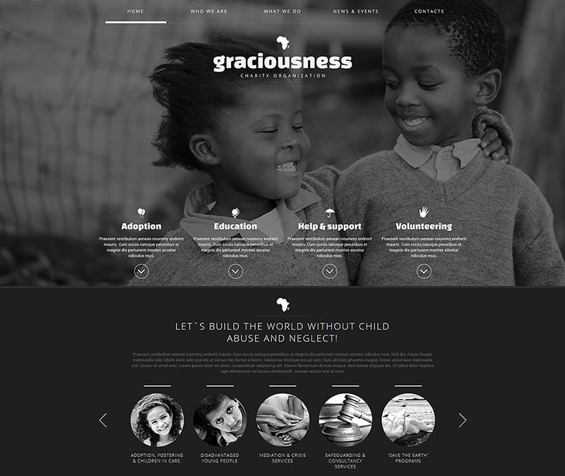 Child Charity Joomla Template