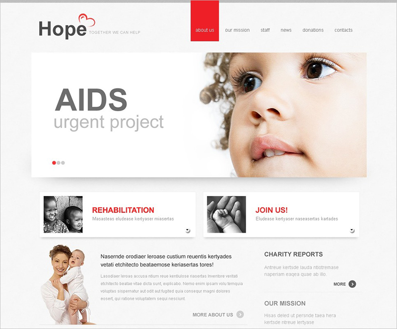 Child Charity Joomla Template