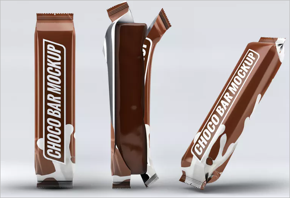 Chocolate Bar Wrapper Template Illustrator