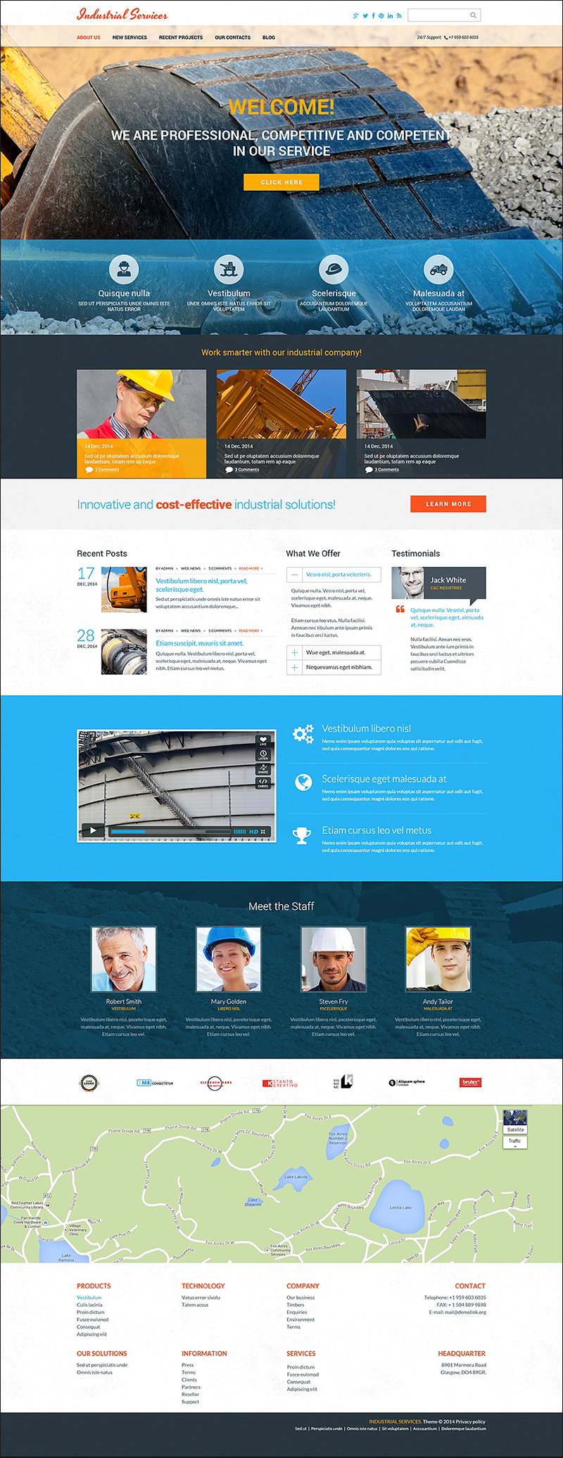 Civil Engineering Drupal Theme