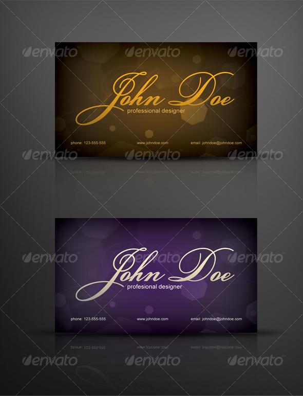 Classy Designer Business Card