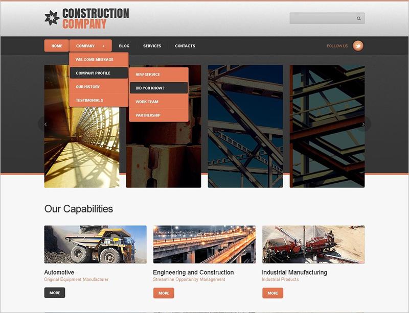 Construction Company Joomla Theme