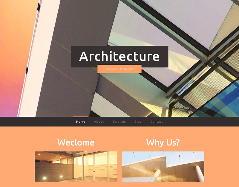 Construction Company Responsive Website Template (2)