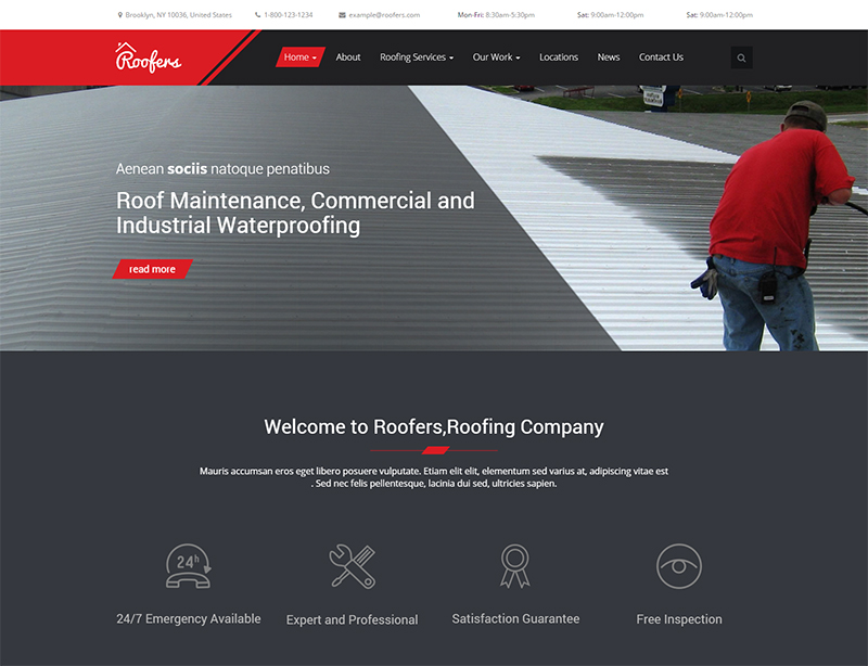 Construction & Contractor HTML Template