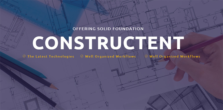 Construction HTML Templates
