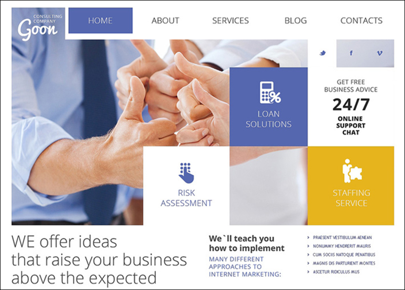 Consulting Agency Joomla Theme