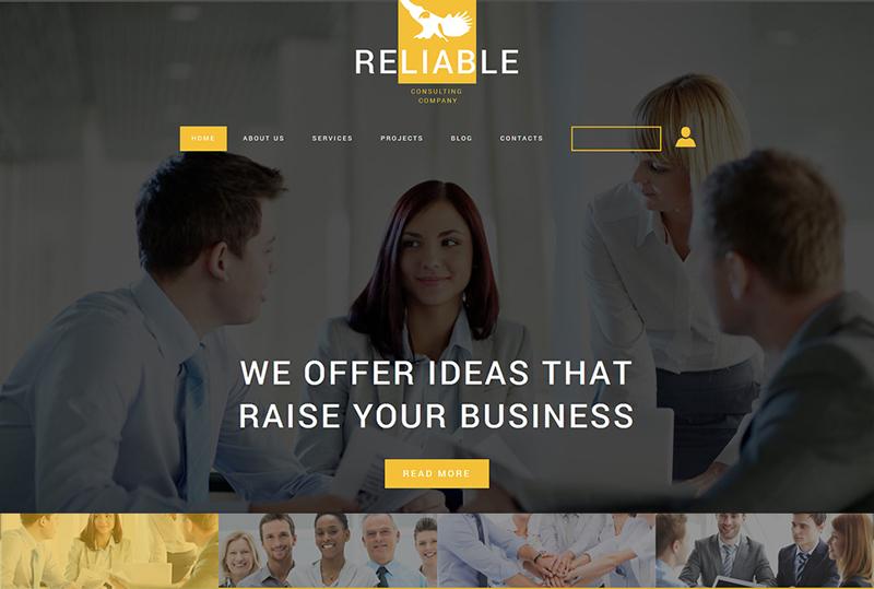 Consulting Company Joomla Template