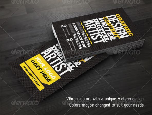Creative Designer Name Card