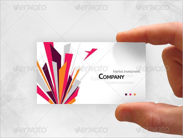 Creative Marketing Business Card