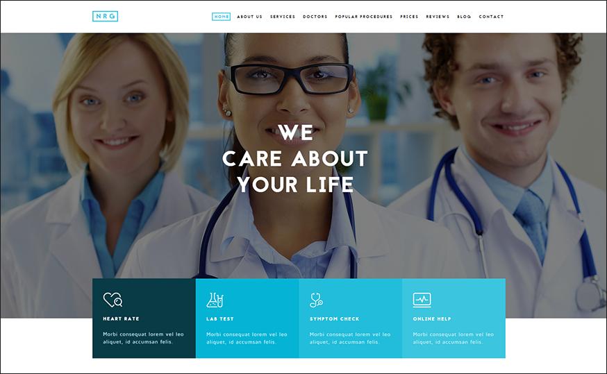 Doctor & Healthcare Joomla Template