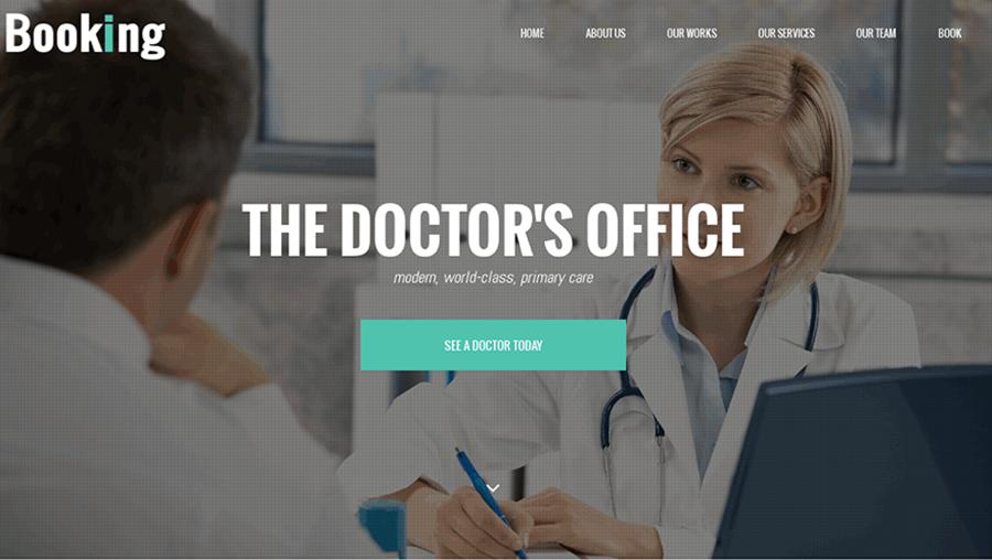 Doctor's Office Joomla Template