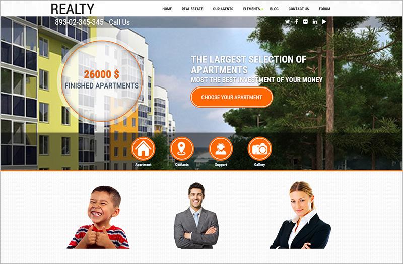 Drupal 7 Real Estate Template