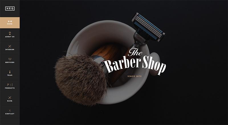 Drupal Hair Salon Theme