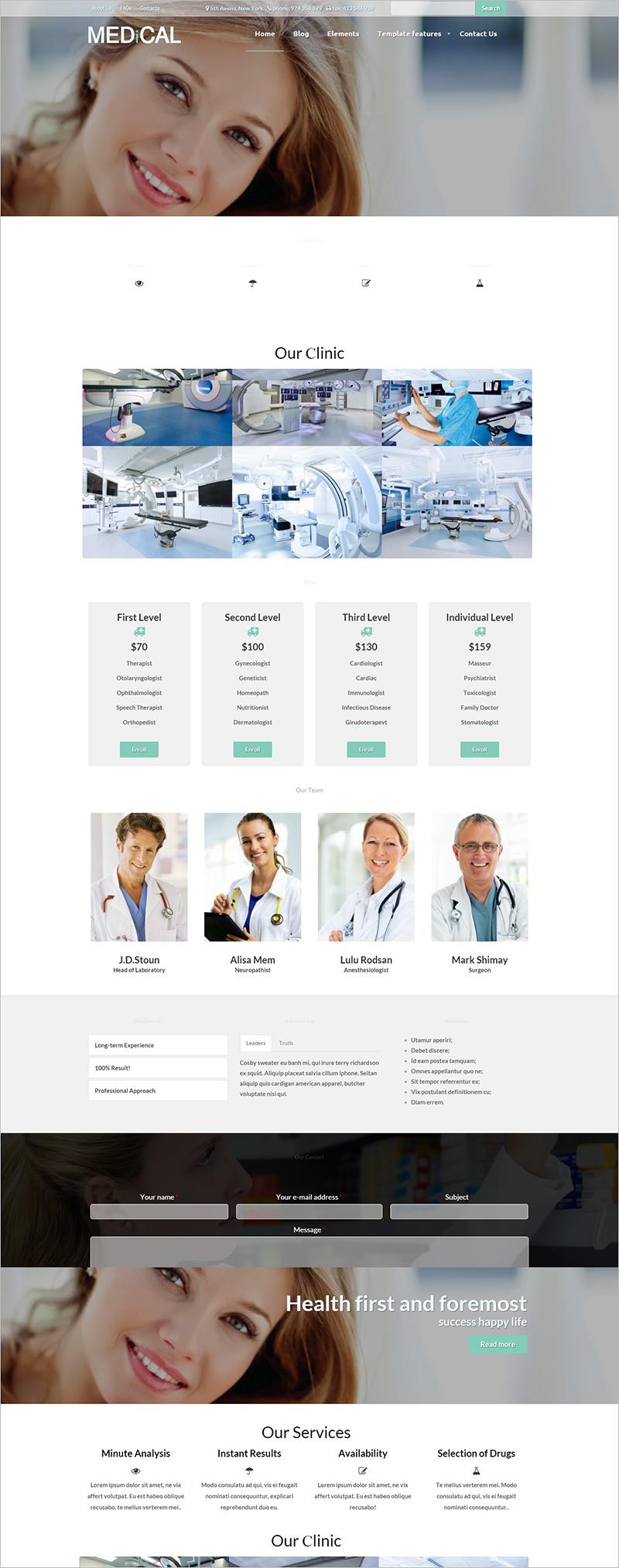 Drupal Healthcare Theme