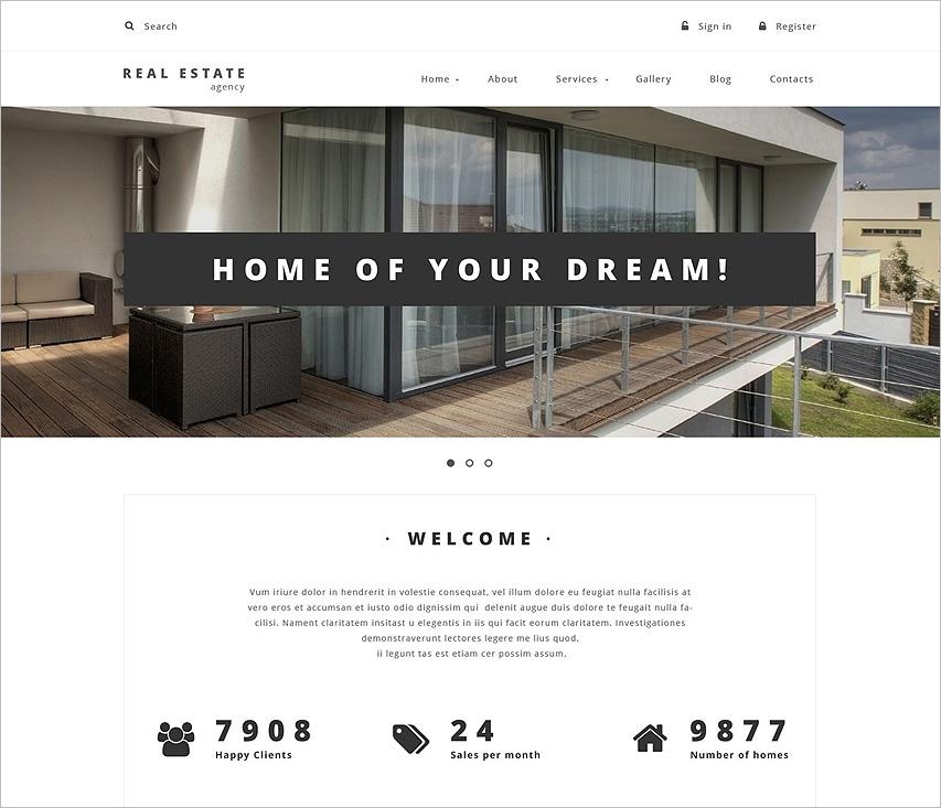 Drupal Property Management Theme