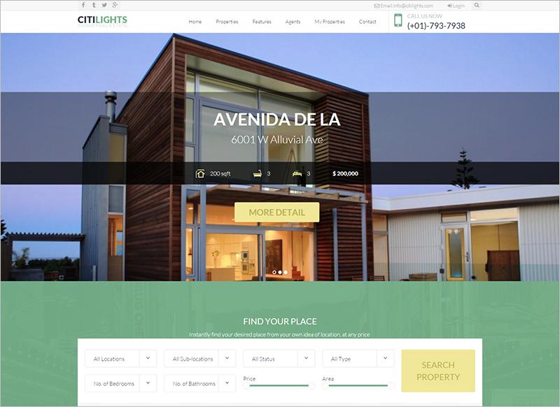 Drupal Real Estate Template