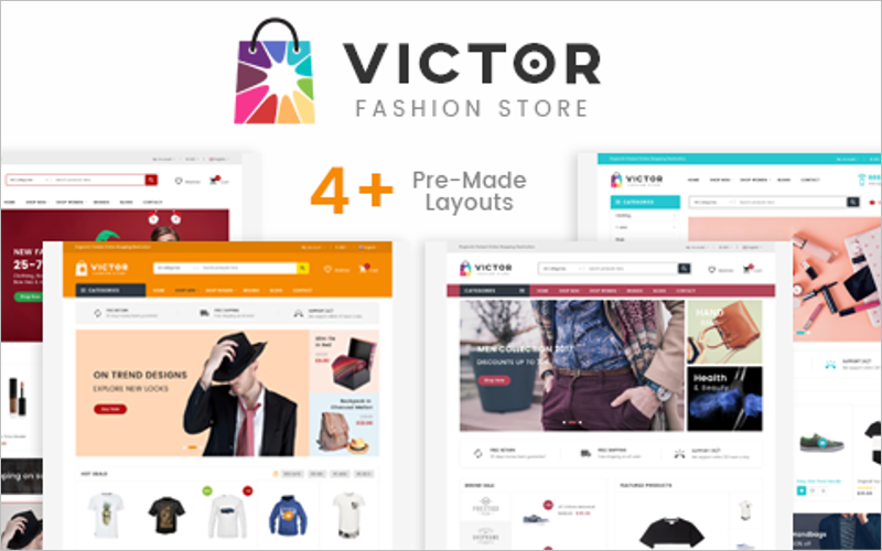 ECommerce Fashion Template