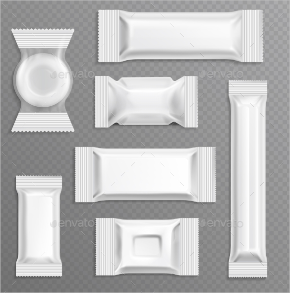 Empty Candy Bar Wrapper Template
