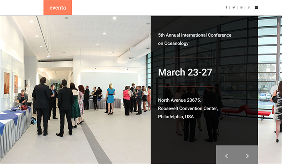 Event Management HTML Site Template
