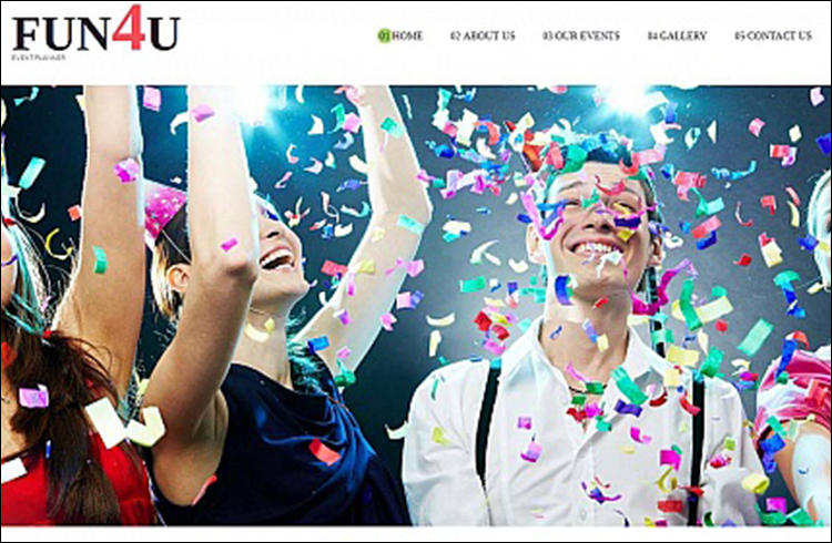 Event Organizing HTML5 Template