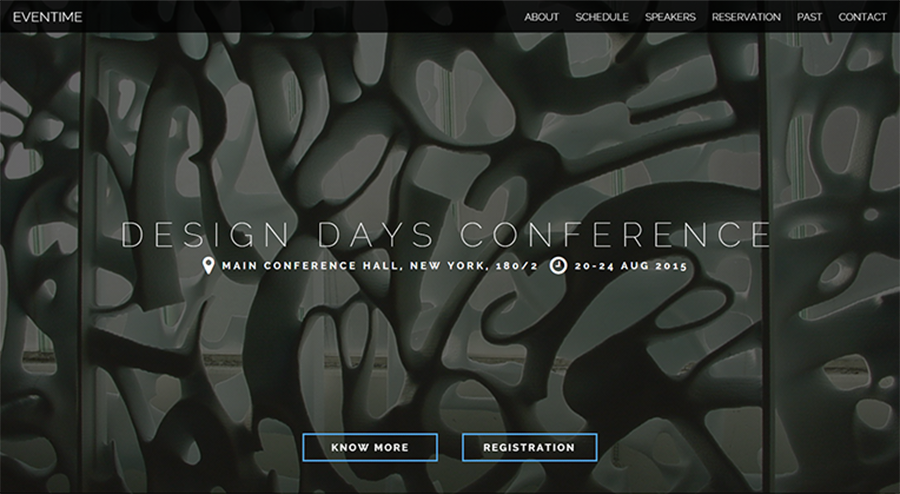 Events & Meeting HTML Template