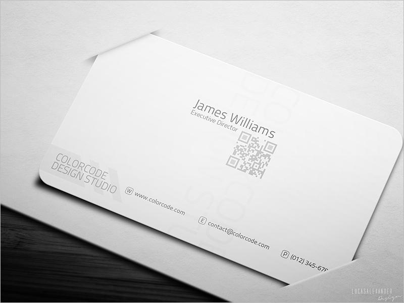 Executive Director Business Card