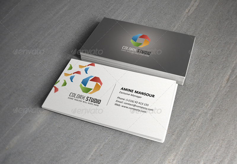 Executive Manager Business Card