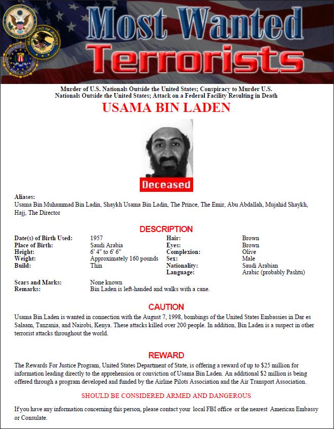 FBI Wanted Poster Template PDF