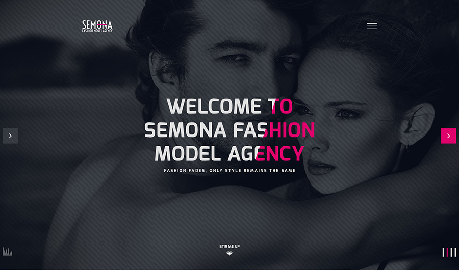 Fashion Agency Joomla Template
