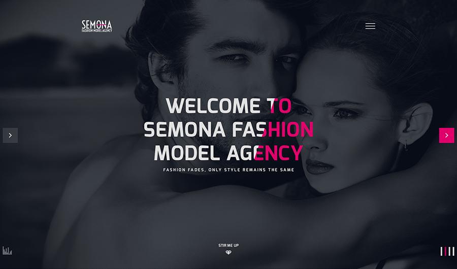 Fashion Agency Joomla Template